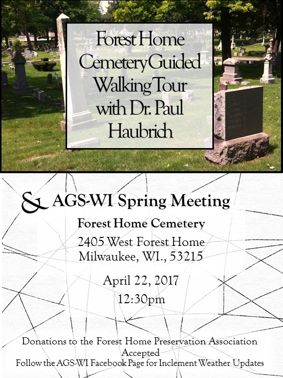 Forest Home Cemetery Guided Walking Tour